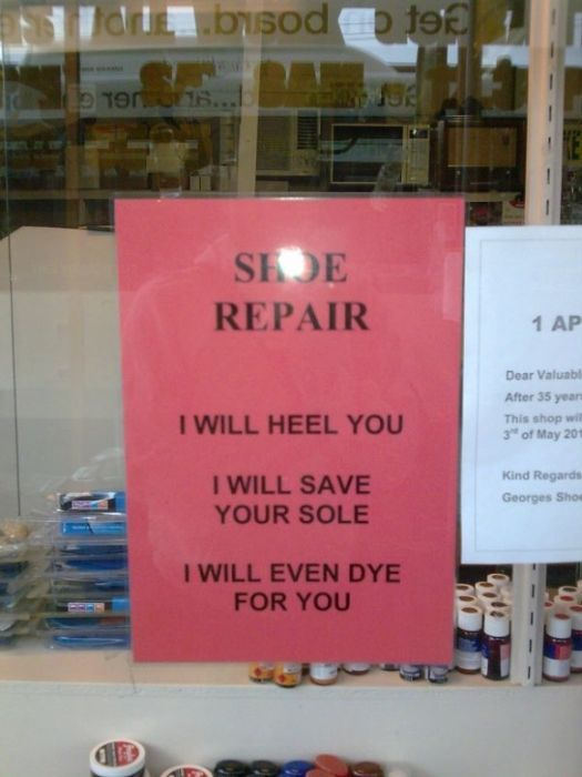 16 Of The Funniest And Most Epic Business Signs Ever